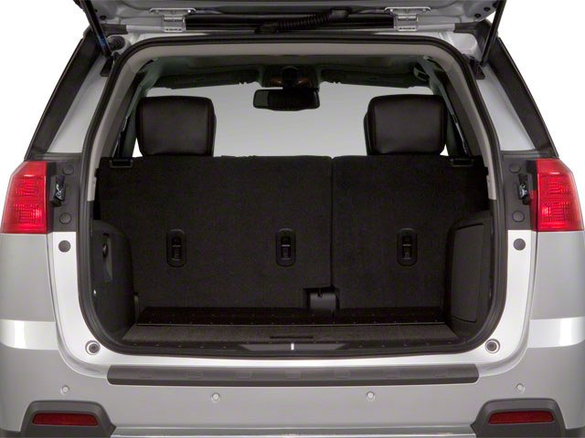 2010 GMC Terrain Prices and Values Utility 4D SLE2 2WD open trunk