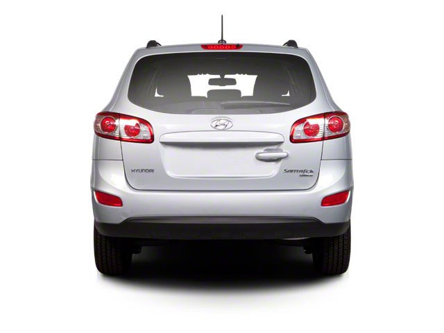 2010 Hyundai Santa Fe Prices and Values Utility 4D Limited AWD rear view