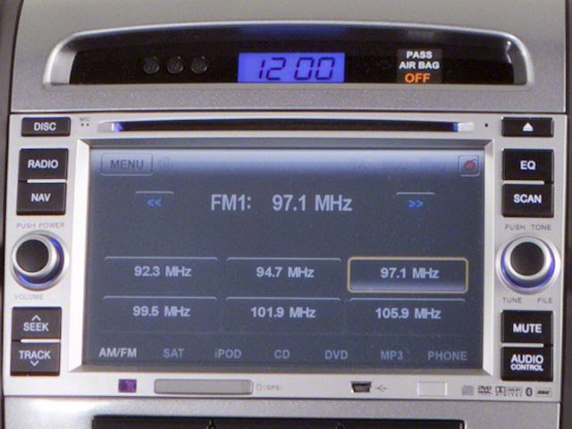 2010 Hyundai Santa Fe Prices and Values Utility 4D Limited AWD stereo system