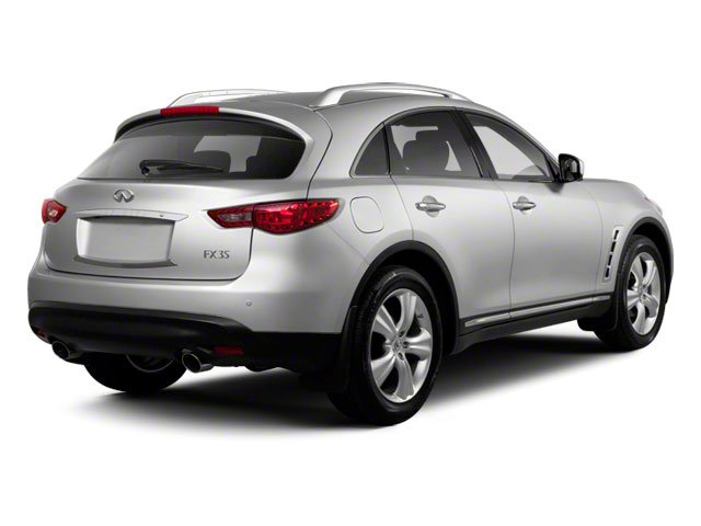 2010 INFINITI FX35 Pictures FX35 FX35 AWD photos side rear view