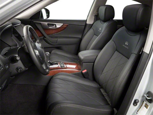 2010 INFINITI FX35 Pictures FX35 FX35 AWD photos front seat interior