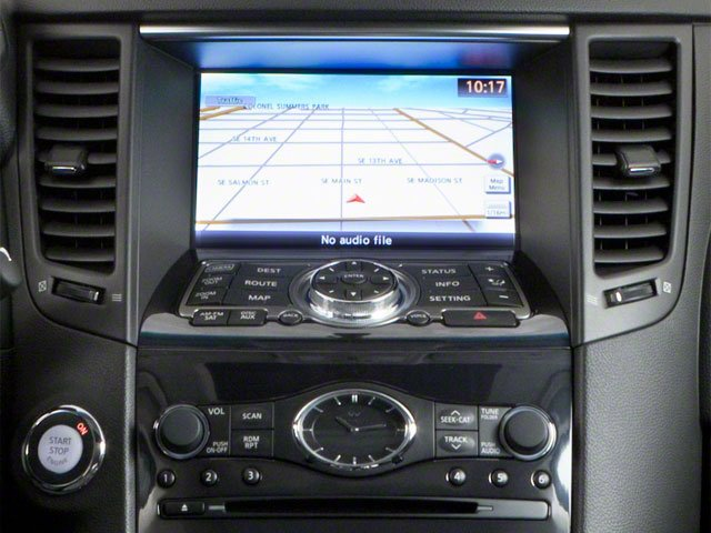2010 INFINITI FX35 Pictures FX35 FX35 2WD photos stereo system