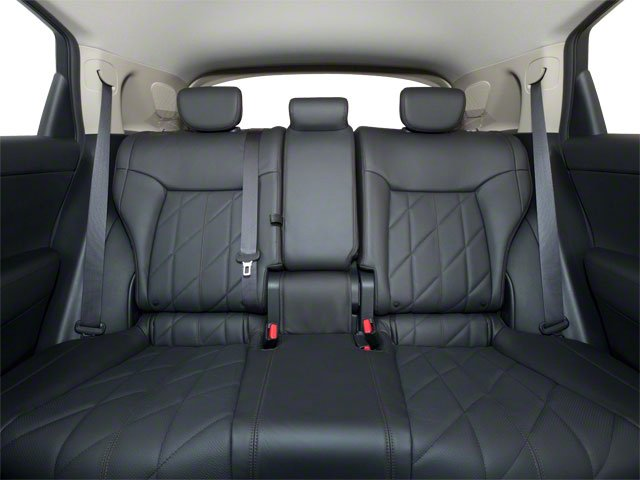 2010 INFINITI FX35 Pictures FX35 FX35 AWD photos backseat interior