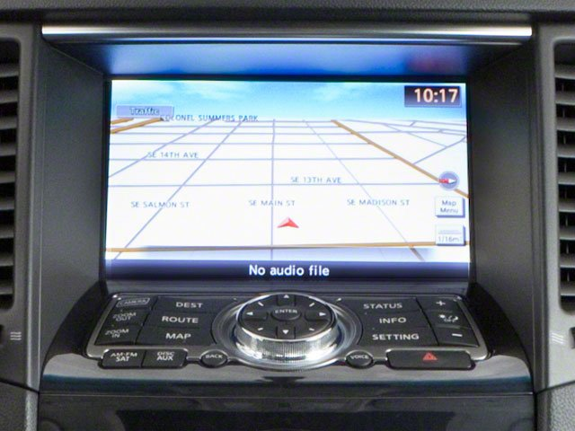 2010 INFINITI FX35 Pictures FX35 FX35 2WD photos navigation system
