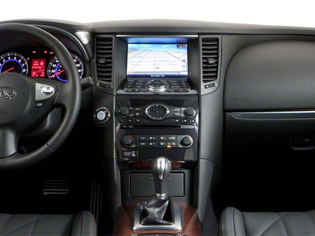 2010 INFINITI FX35 Prices and Values FX35 AWD center dashboard