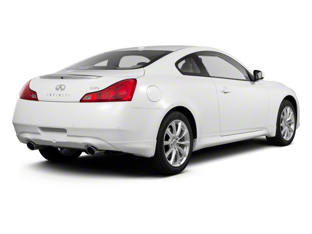 2010 INFINITI G37 Coupe Prices and Values Coupe 2D x AWD side rear view