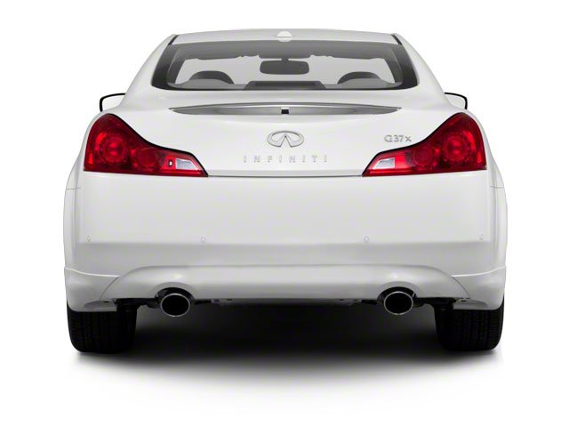 2010 INFINITI G37 Coupe Prices and Values Coupe 2D x AWD rear view