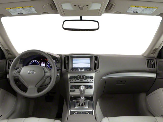 2010 INFINITI G37 Coupe Prices and Values Coupe 2D x AWD full dashboard