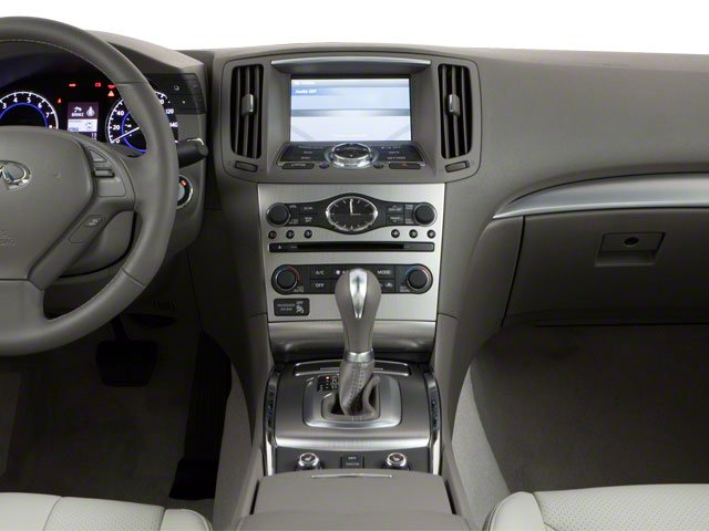 2010 INFINITI G37 Coupe Prices and Values Coupe 2D x AWD center dashboard