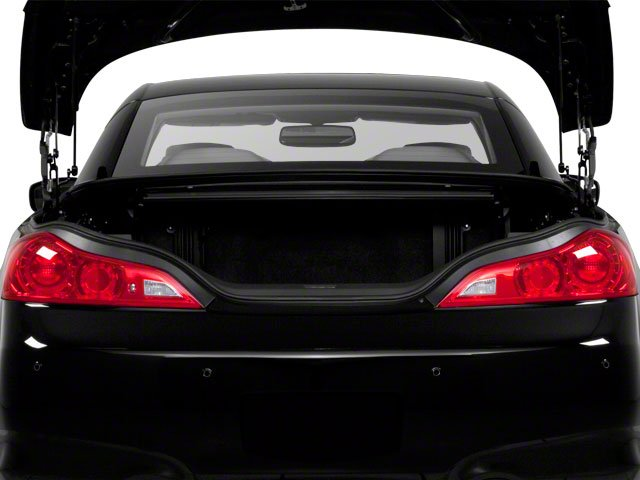 2010 INFINITI G37 Convertible Pictures G37 Convertible Convertible 2D photos open trunk