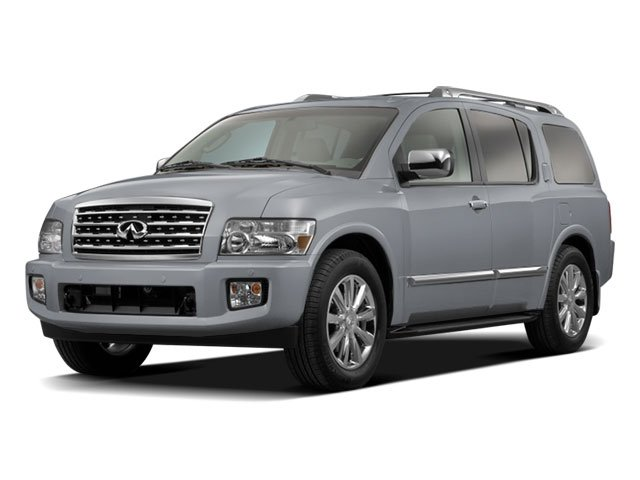 2010 INFINITI QX56 Prices and Values Utility 4D 2WD side front view