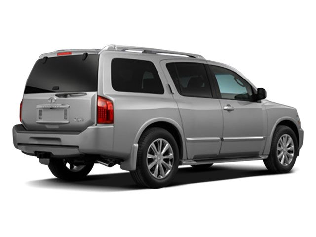 2010 INFINITI QX56 Prices and Values Utility 4D 2WD side rear view