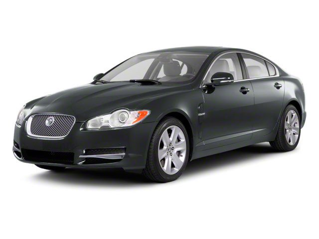 2010 Jaguar XF Prices and Values Sedan 4D Supercharged side front view