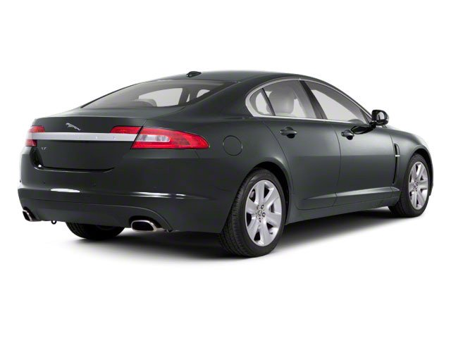 2010 Jaguar XF Prices and Values Sedan 4D Supercharged side rear view