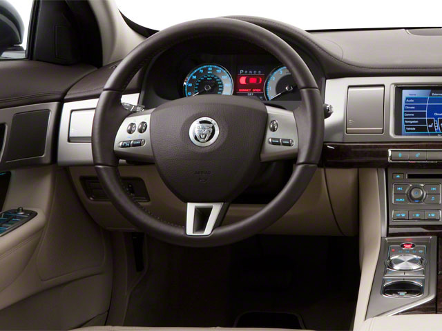 2010 Jaguar XF Prices and Values Sedan 4D Supercharged driver's dashboard