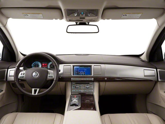 2010 Jaguar XF Prices and Values Sedan 4D Supercharged full dashboard