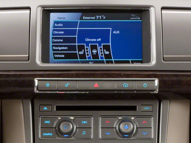2010 Jaguar XF Prices and Values Sedan 4D Portfolio stereo system