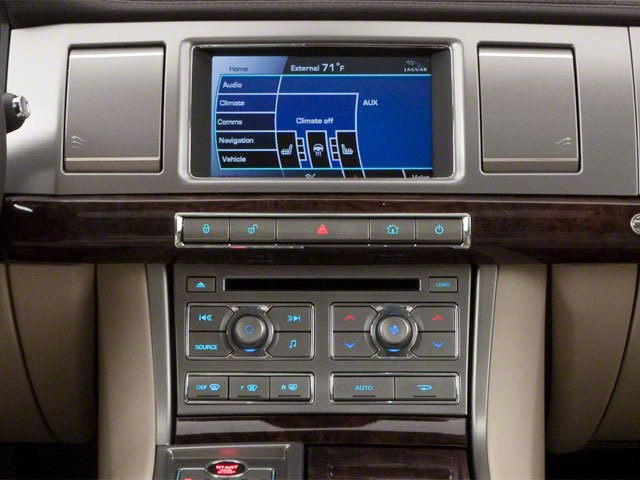 2010 Jaguar XF Prices and Values Sedan 4D Supercharged center console