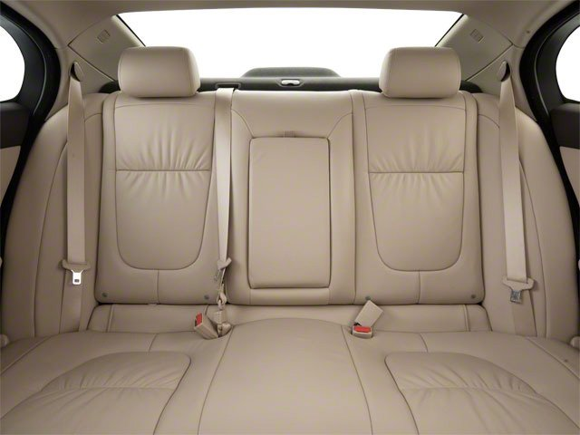 2010 Jaguar XF Prices and Values Sedan 4D Premium Luxury backseat interior