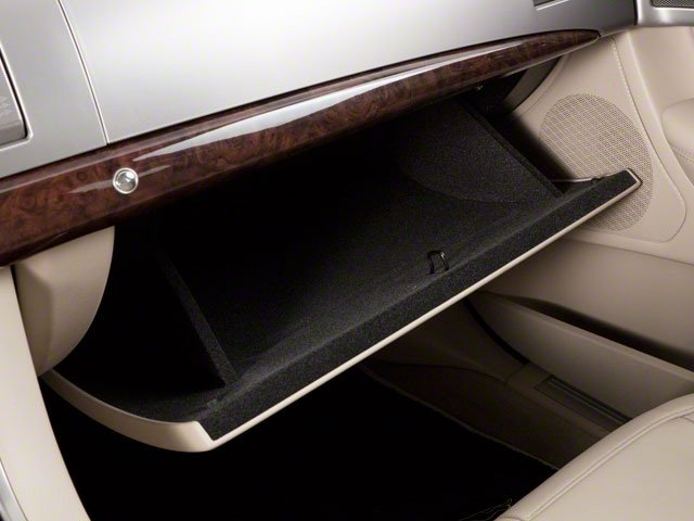 2010 Jaguar XF Prices and Values Sedan 4D Supercharged glove box