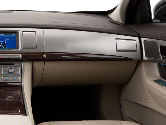 2010 Jaguar XF Prices and Values Sedan 4D Supercharged passenger's dashboard