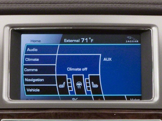 2010 Jaguar XF Prices and Values Sedan 4D Supercharged navigation system