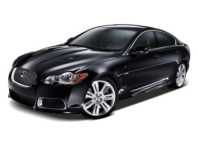 2010 Jaguar XF Prices and Values Sedan 4D Luxury side front view