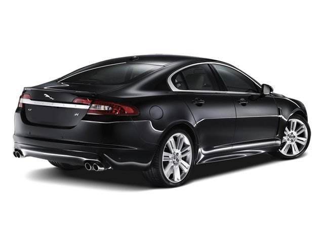 2010 Jaguar XF Prices and Values Sedan 4D Luxury side rear view
