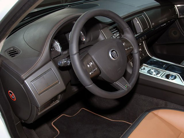 2010 Jaguar XF Prices and Values Sedan 4D Luxury full dashboard