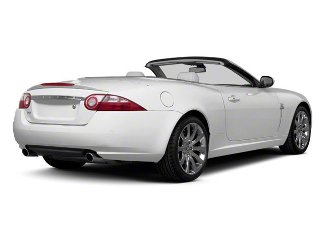 2010 Jaguar XK Prices and Values Convertible XKR Supercharged side rear view