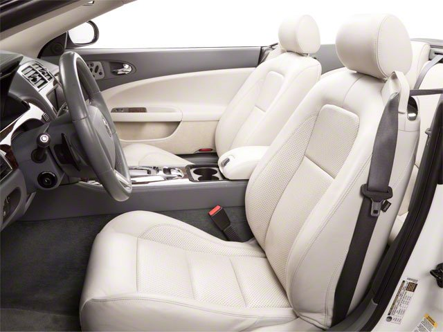 2010 Jaguar XK Prices and Values Convertible XKR Supercharged front seat interior
