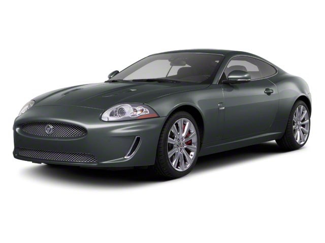 2010 Jaguar XK Prices and Values Coupe 2D XKR Supercharged side front view