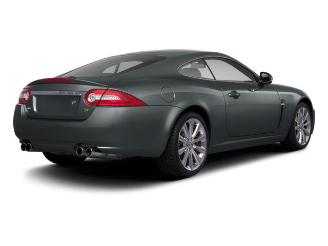 2010 Jaguar XK Prices and Values Coupe 2D XKR Supercharged side rear view