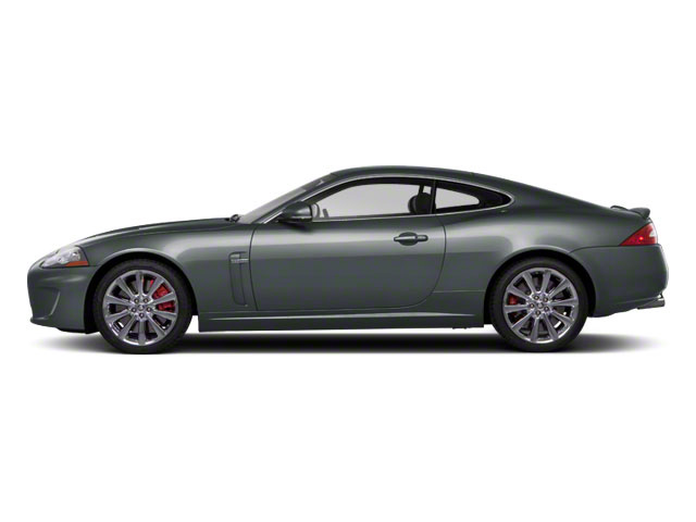 2010 Jaguar XK Prices and Values Coupe 2D XKR Supercharged side view