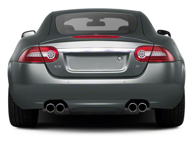 2010 Jaguar XK Prices and Values Coupe 2D XKR Supercharged rear view