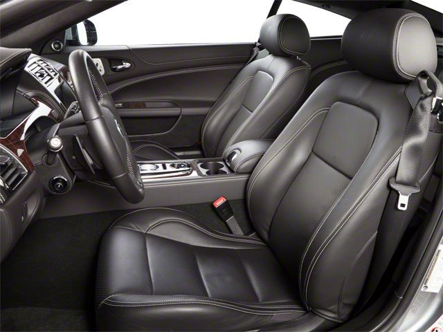 2010 Jaguar XK Prices and Values Coupe 2D XKR Supercharged front seat interior