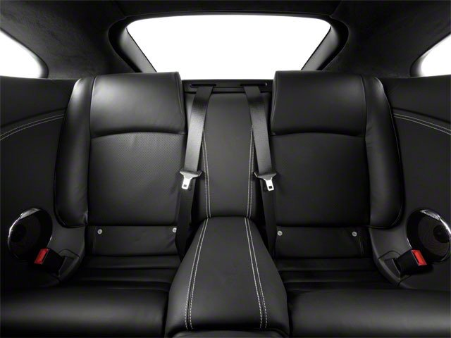 2010 Jaguar XK Prices and Values Coupe 2D XKR Supercharged backseat interior