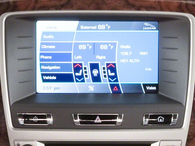 2010 Jaguar XK Prices and Values Coupe 2D XKR Supercharged navigation system
