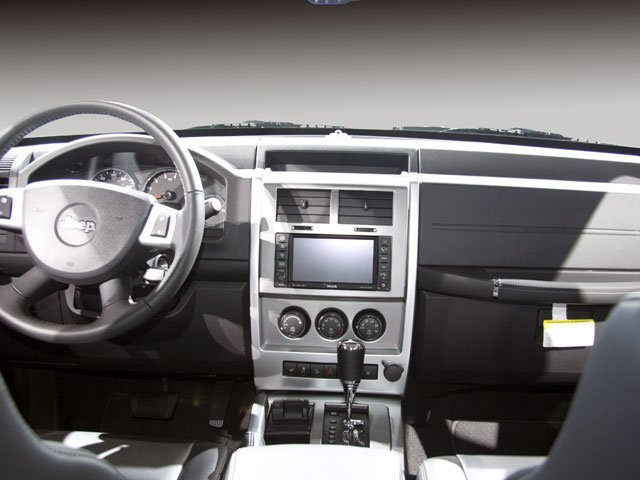 2010 Jeep Liberty Prices and Values Utility 4D Limited 4WD full dashboard