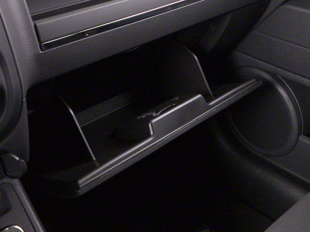 2010 Jeep Patriot Prices and Values Utility 4D Latitude 2WD glove box