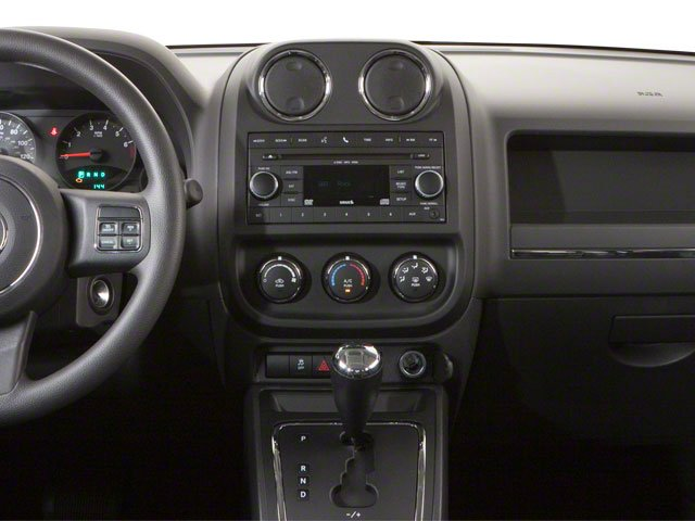 2010 Jeep Patriot Prices and Values Utility 4D Latitude 2WD center dashboard