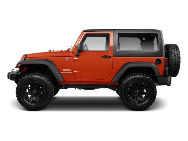 2010 Jeep Wrangler Prices and Values Utility 2D Sport 4WD side view