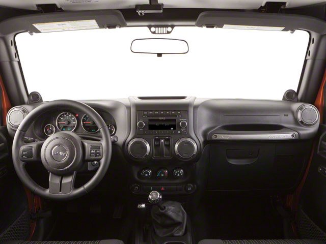 2010 Jeep Wrangler Prices and Values Utility 2D Sport 4WD full dashboard