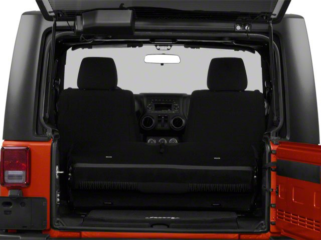 2010 Jeep Wrangler Prices and Values Utility 2D Sport 4WD open trunk