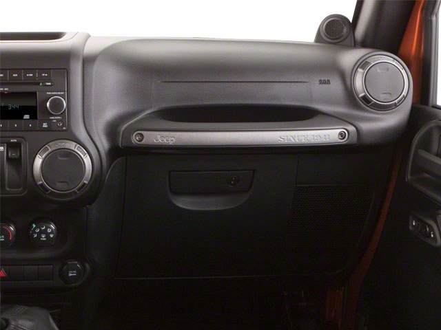 2010 Jeep Wrangler Prices and Values Utility 2D Sport 4WD passenger's dashboard