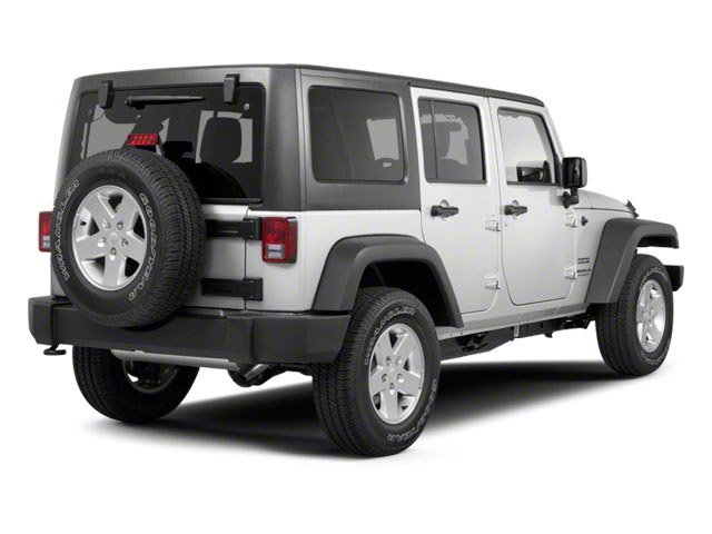 2010 Jeep Wrangler Unlimited Prices and Values Utility 4D Unlimited Sport 4WD side rear view