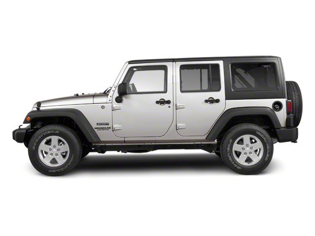 2010 Jeep Wrangler Unlimited Prices and Values Utility 4D Unlimited Sport 4WD side view