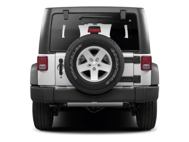 2010 Jeep Wrangler Unlimited Prices and Values Utility 4D Unlimited Sport 4WD rear view