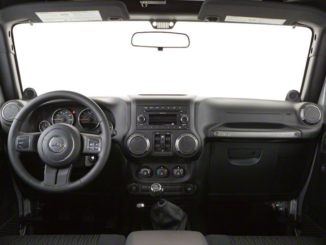 2010 Jeep Wrangler Unlimited Prices and Values Utility 4D Unlimited Sport 4WD full dashboard