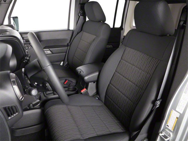 2010 Jeep Wrangler Unlimited Prices and Values Utility 4D Unlimited Sport 4WD front seat interior